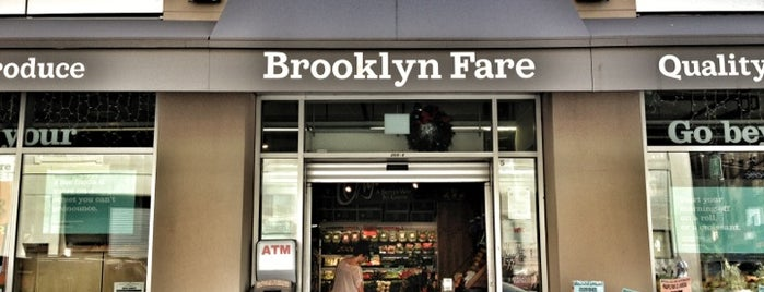 Brooklyn Fare is one of Groceries.