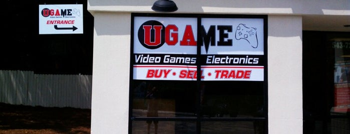 UGame is one of Best Retrogaming Shops.