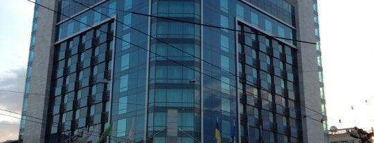 Отель «Харьков» is one of Kharkov.