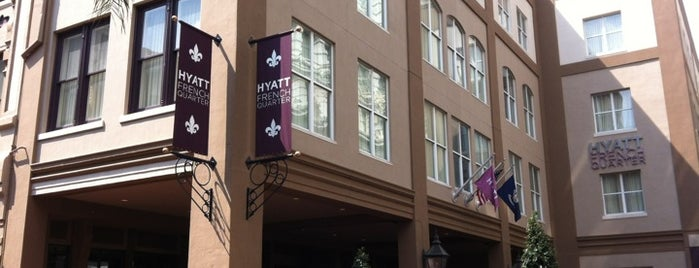 Hyatt Centric French Quarter is one of The 15 Best Comfortable Places in New Orleans.