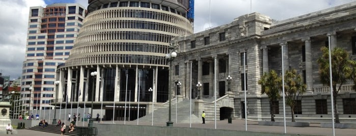The Beehive is one of NZ to go.