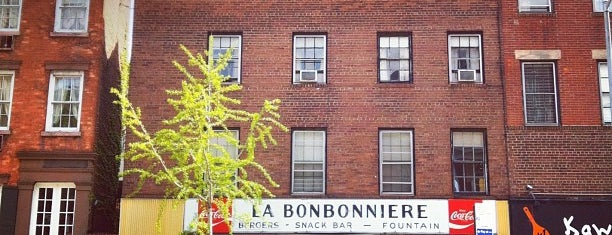 La Bonbonniere is one of New York - General.