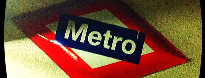 Metro Tetuán is one of Transporte.