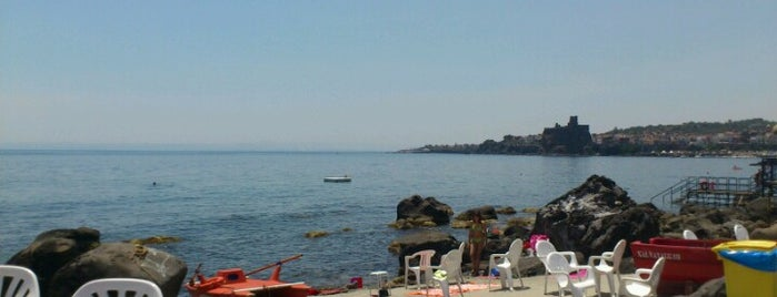 Lido Dei Ciclopi is one of MyCity Beach - Catania & Siracusa.