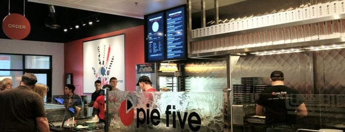 Pie Five Pizza Co. is one of The 15 Best Places for a Pizza in Dallas.