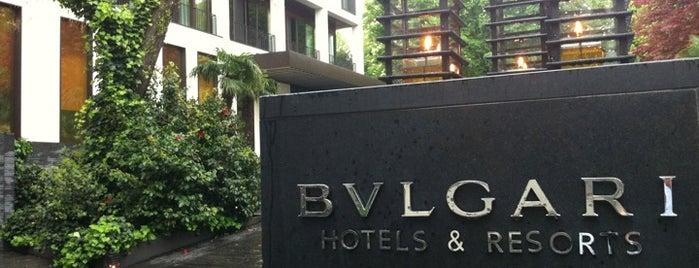 Bulgari Hotels & Resorts is one of Milano.