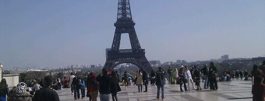 Eiffel Tower is one of Europe 2013.