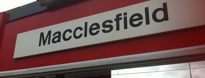 Macclesfield Railway Station (MAC) is one of Ziggy goes to Manchester.
