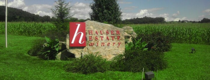 Hauser Estate Winery is one of Make your own wine trail.