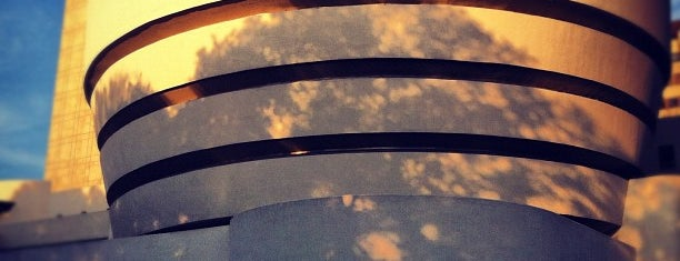 Solomon R Guggenheim Museum is one of Architecture Highlights.