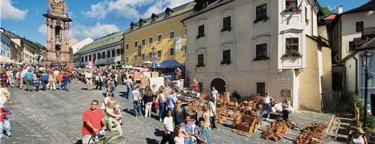 Banská Štiavnica is one of UNESCO Slovakia - kultúrne/prírodné pamiatky.
