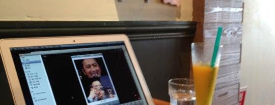 猿Cafe 八事店 is one of 電源 コンセント スポット.