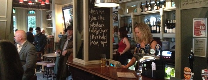 The Queens is one of BMAG's Pubs.