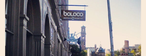 Boloco is one of Bars and Restaurants in Boston.