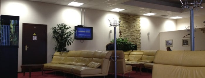 Pulkovo-1 Business Lounge is one of Try.