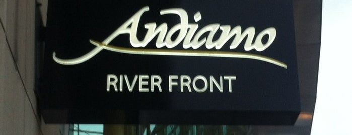 Andiamo Detroit Riverfront is one of Michigan Restaurants.