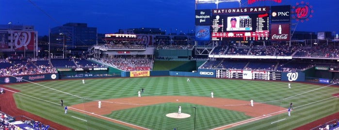 Nationals Park is one of Sporting Venues To Visit.....