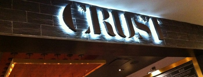 CRUST is one of NYC Pizza.