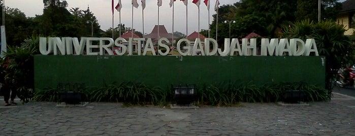 Universitas Gadjah Mada (UGM) is one of YOGYAKARTA.