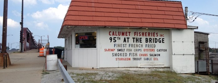 Calumet Fisheries is one of LTH tips.