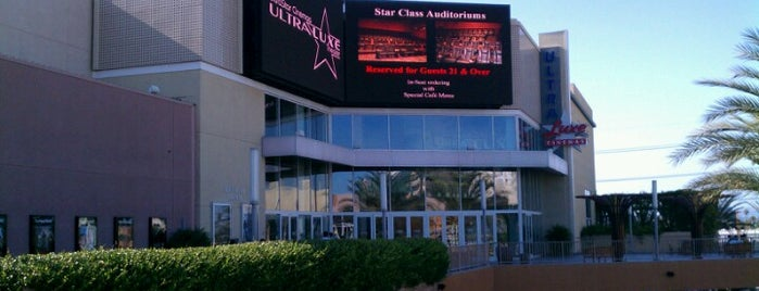 UltraLuxe Anaheim Cinemas at GardenWalk is one of Favorite affordable date spots.