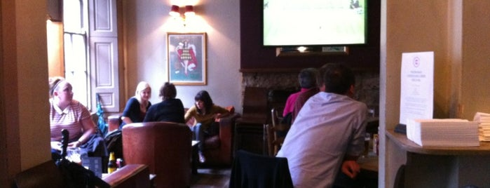 The Cambridge Bar is one of Favourite Pubs in Edinburgh.