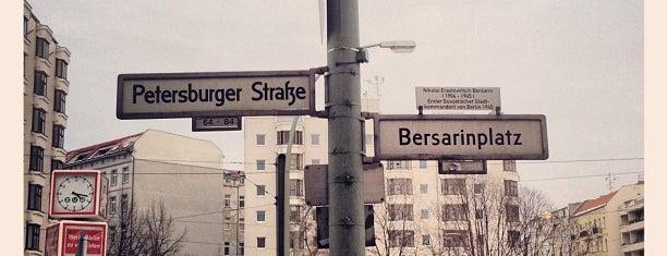 Bersarinplatz is one of Berlin | F'hain.