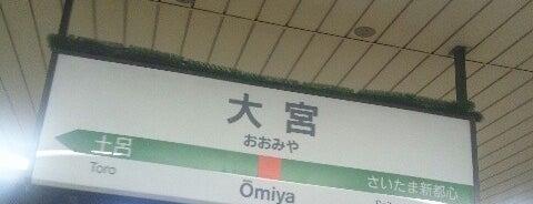 Ōmiya Station is one of 東京近郊区間主要駅.