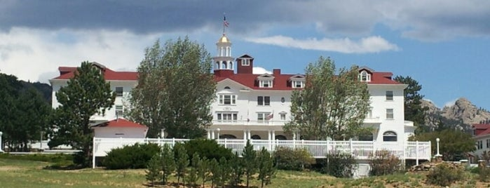 Stanley Hotel is one of Flying High in Colorado.