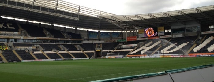 KC Stadium is one of Barclays Premier League Stadiums 2013-14 Season.