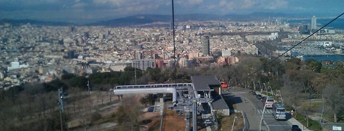 Castell de Montjuïc is one of Barcelona.