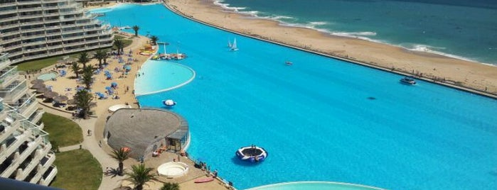 San Alfonso del Mar is one of ♥.