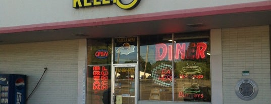 Kelly-O's Diner is one of Diners, Drive-Ins, and Dives- Part 2.