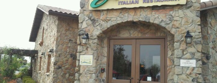 Olive Garden is one of Dan's Places.
