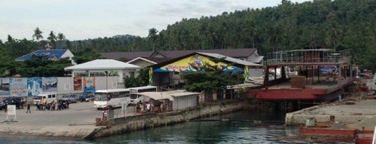 Samal Ferry Wharf is one of Places I've been to....