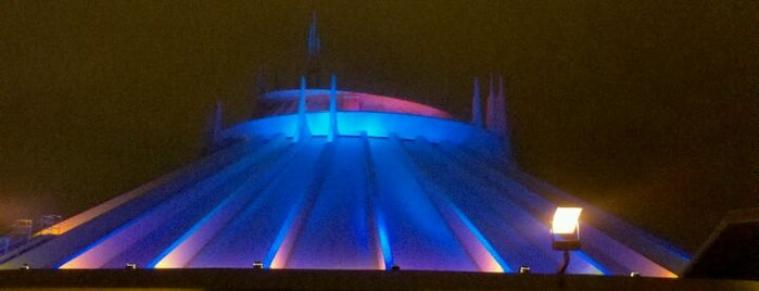 Space Mountain is one of Rides I Done...Rode.