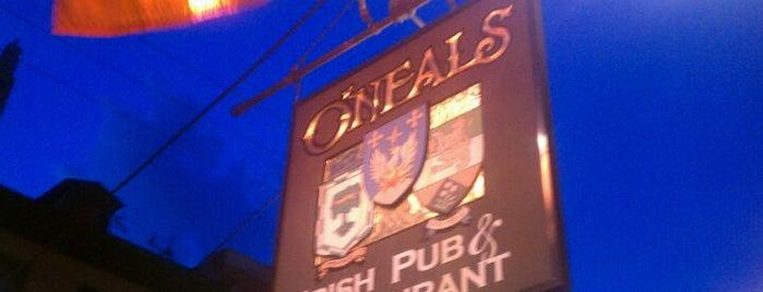 O'Neals Irish Pub is one of PSN Sponsor Bars.
