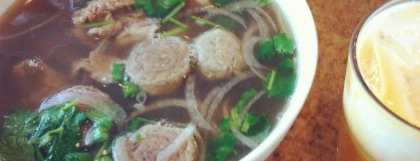 Pho Saigon is one of Favorites.