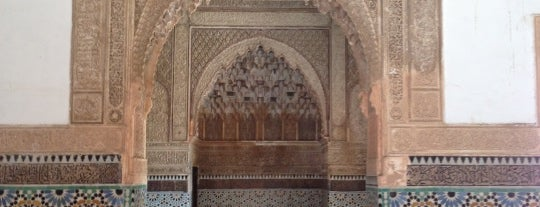 Saadian Tombs is one of A local's guide: 48 hours in Marrakech, Morocco.