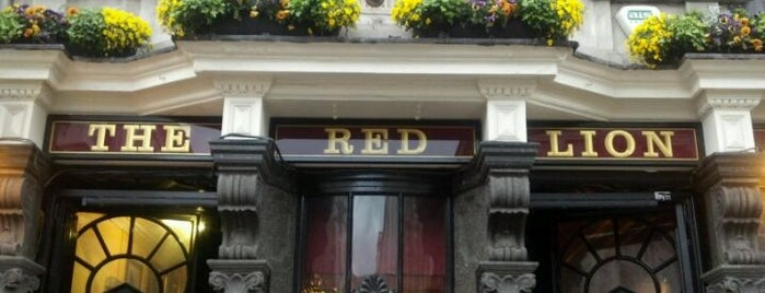 Red Lion is one of London Pint.