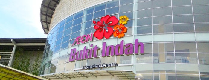 AEON Bukit Indah Shopping Centre is one of Shopping Paradise.