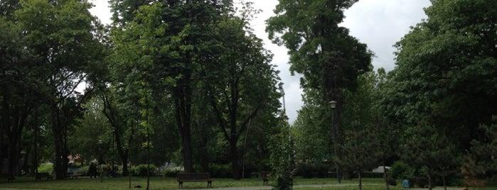 "Spomen-park ""Topovske šupe"" is one of Parks and city squares in Belgrade."