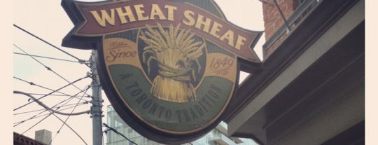 The Wheat Sheaf is one of MLS Pubs in Toronto.