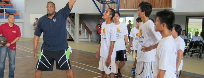 Universitas Sebelas Maret is one of Duta Olahraga AS berkunjung ke Indonesia.
