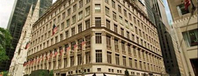 Saks Fifth Avenue is one of New York.