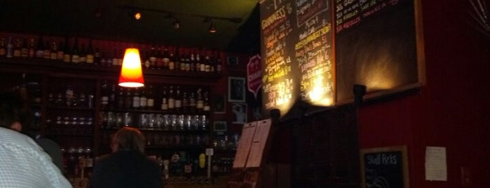 The Moan and Dove is one of Draft Magazine Best Beer Bars.