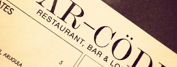 Barcode is one of dc watering holes.