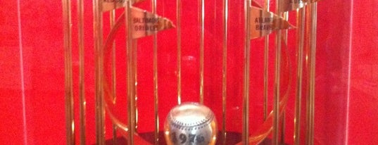Cincinnati Reds Hall of Fame & Museum is one of Historian.