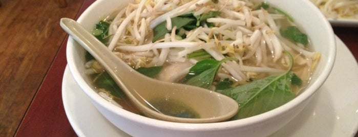 Pho Basil is one of Boston food.