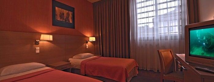 Hotel*** Oliwski is one of Szkolenia z Inspiros.